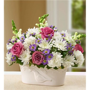 peace-and-healing-lavender-and-white-flower-arrangement-funeral-gift